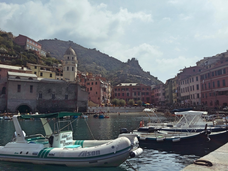 Vernazza-port