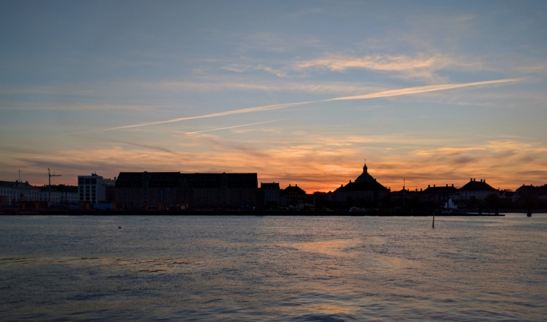 Copenhagen-sunset
